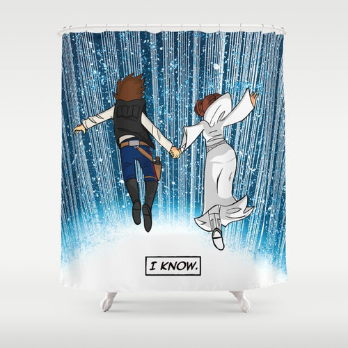 The Galaxy Shower Curtain