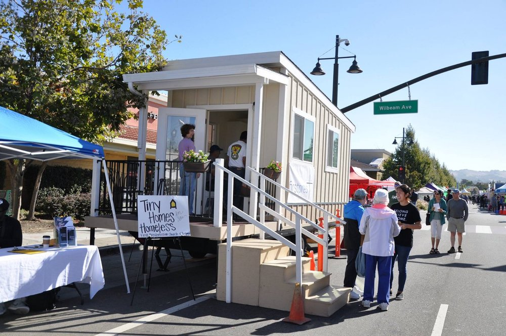 Tiny Homes Demo at Castro Valley Fall Festival 2018