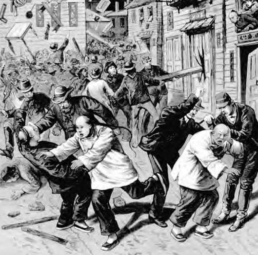 Image of the Chinese Massacre of 1871- Chinese American Museum