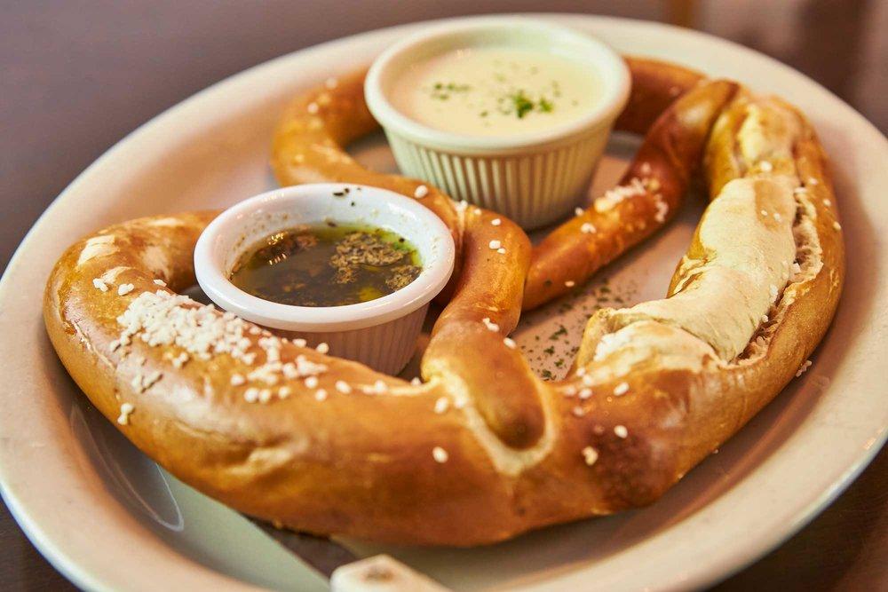 Heidelberg German Restaurant Food Pretzel