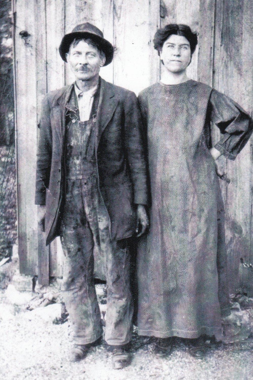 Grandpa & Grandma Curl - My great grandparents