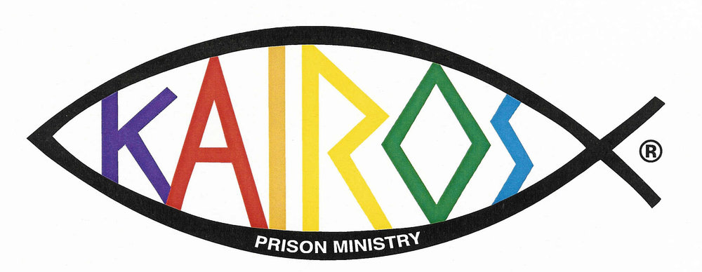 Kairos Ministry - The mission of Kairos Prison Ministry is to share the transforming love and forgiveness of Jesus Christ to impact the hearts and lives of incarcerated men, women and youth, as well as their families, to become loving and productive citizens of their communities.