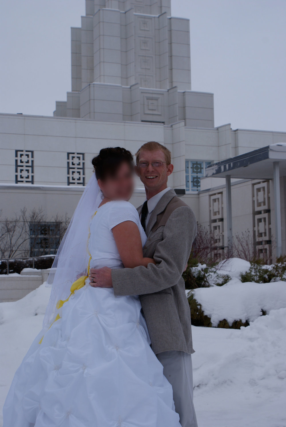 Our LDS wedding, Idaho Falls Temple