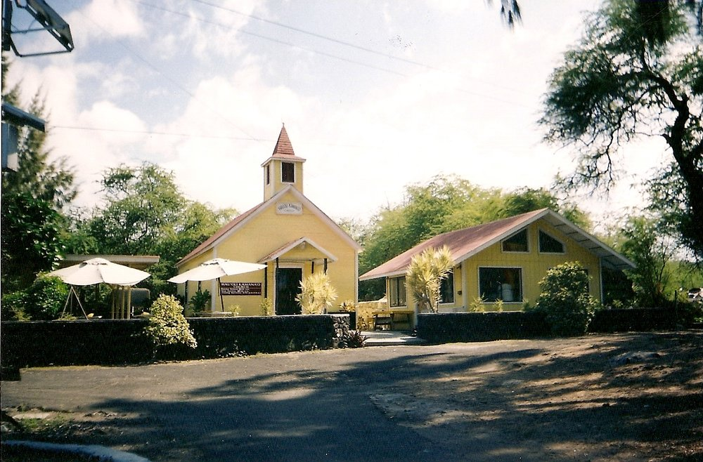 The Church - is the people, not the building. This building is in Miloli'i, Hawaii, the last fishing village in Hawaii
