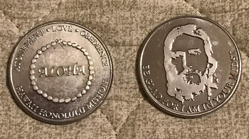 HAWAII HONOLULU MISSION COIN