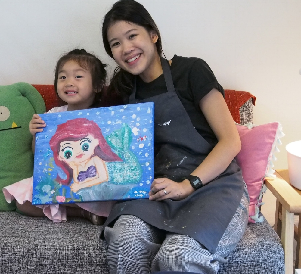 Canvas Painting - Disney Princess   Learn the basics of canvas painting as we help you create your favourite Disney Princess. Understand the different types of brushes, paints and tools used to achieve different textures and effects through developmentally appropriate techniques before bringing home a masterpiece any princess would be be proud of! - Recommended for ages 3 & up. Fees: $65 (canvas measures 30cm x 40cm) Duration: 3 hours