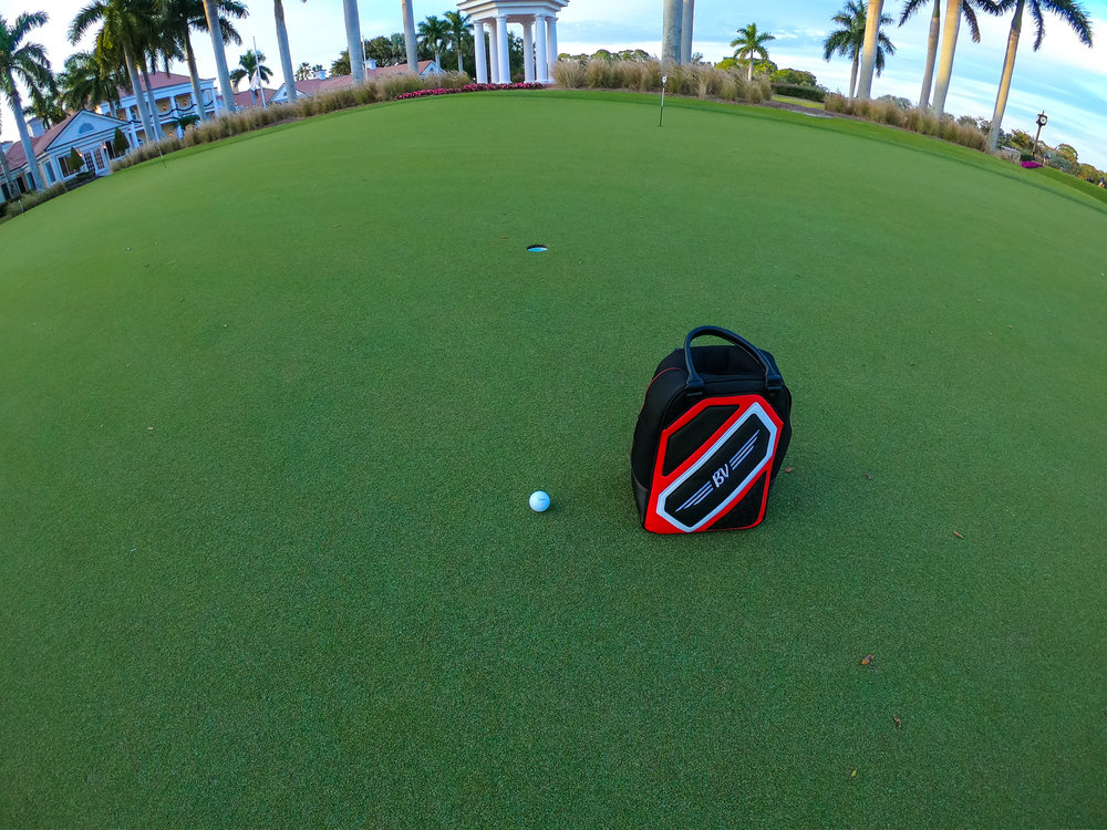 THE NICK ZONE- 14(throw up zone) - Many players on the PGA Tour call the area from 3-5 feet the Throw up Zone.. In 2005, Tiger Woods had 485 putts on tour of 5 feet or less. He missed none of them. Pick a 5 foot putt of your liking and see how many consecutive putts you can make. Set a goal number, then break it. This will be a record holder named game, so whoever has the most consecutive putts made will be honored.Clubs needed: PutterSwings: 486