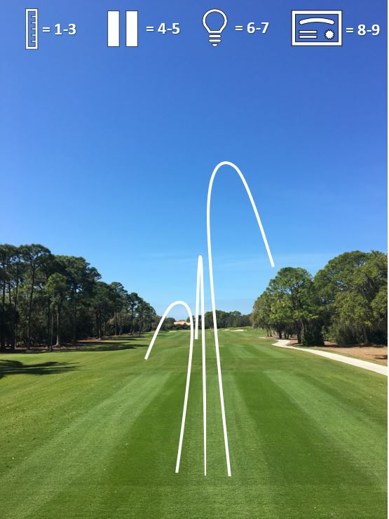 BUBBA - In this game you will attempt to hit 9 different shots with an 8 iron. The trajectory will be low, normal, high and with each shot shape of hook, straight, and slice. For a passing score you must say what your are going to hit before you attempt the shot and it must have the desired outcome. A straight shot may have a small amount of movement but must not move more than 2 yards in either way.Clubs needed: 8 IronSwings: 9