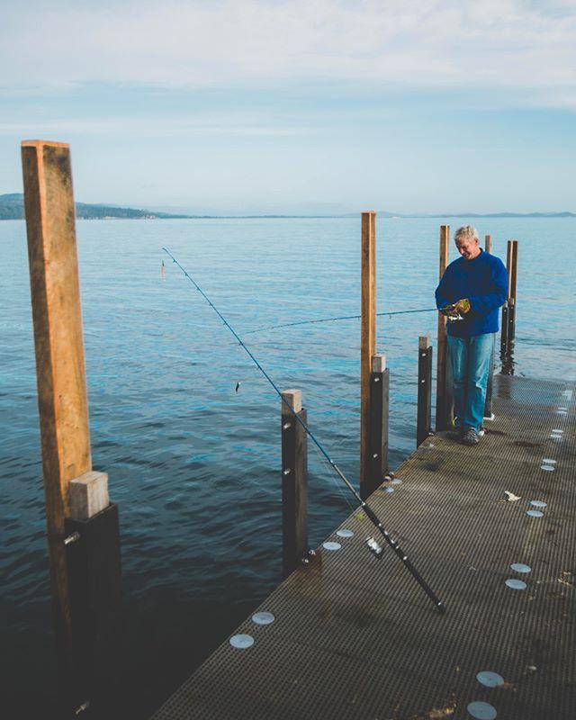 Fishin' 🐟  #brunyislandtas #fishing