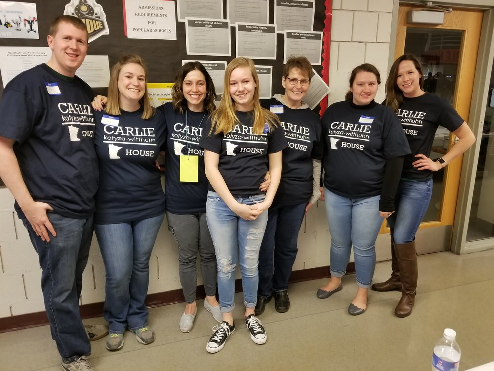 Are you willing to knock doors, make phone calls, host a meet & greet or a fundraiser, or display a yard sign?  - Join our grassroots effort and help Carlie as she continues marching toward the Capitol.
