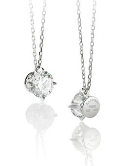 フォーエバーマーク シンプルダイヤモンド ネックレス