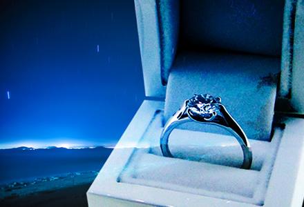 流れ星とダイヤモンド