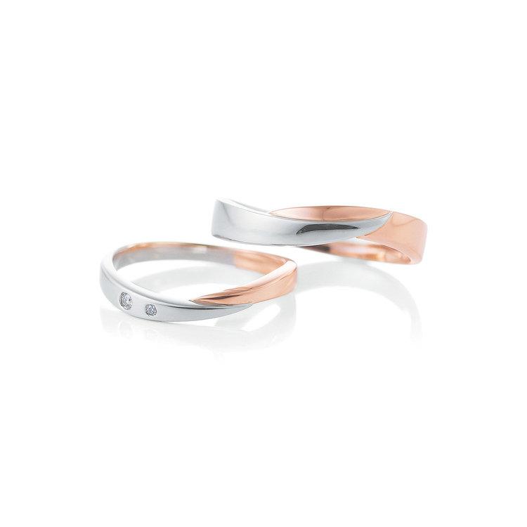 Crescent 結婚指輪