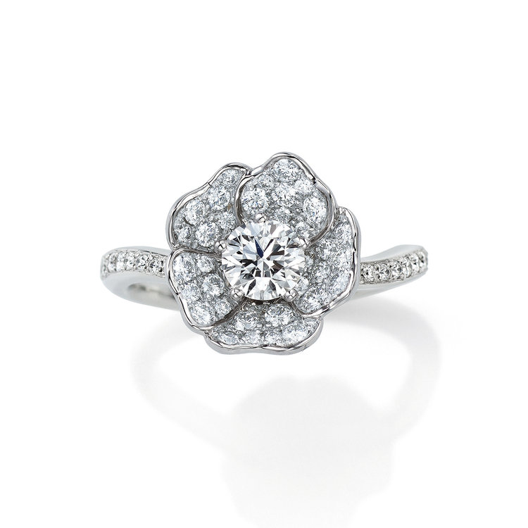 WhiteRose_婚約指輪