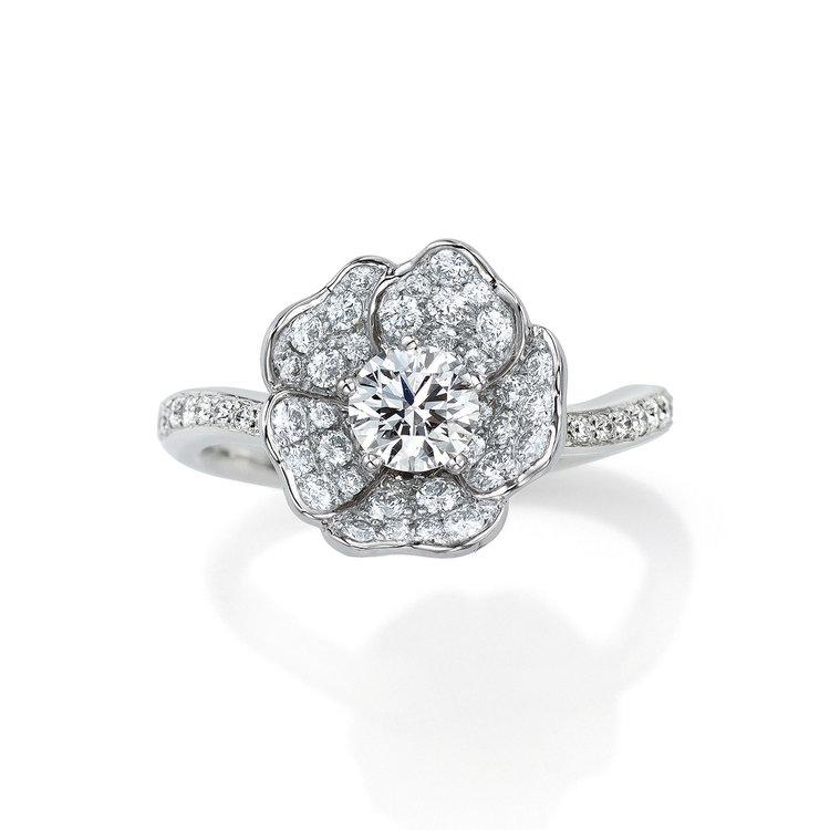 WhiteRose 婚約指輪