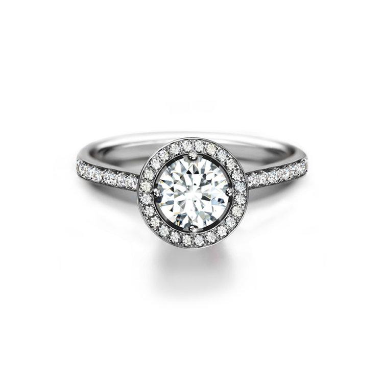 センター・オブ・マイ・ユニバース コレクション フォーエバーマーク 婚約指輪