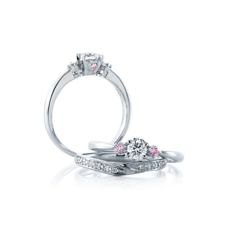 Ange & Vanille 婚約指輪_結婚指輪_セットリング