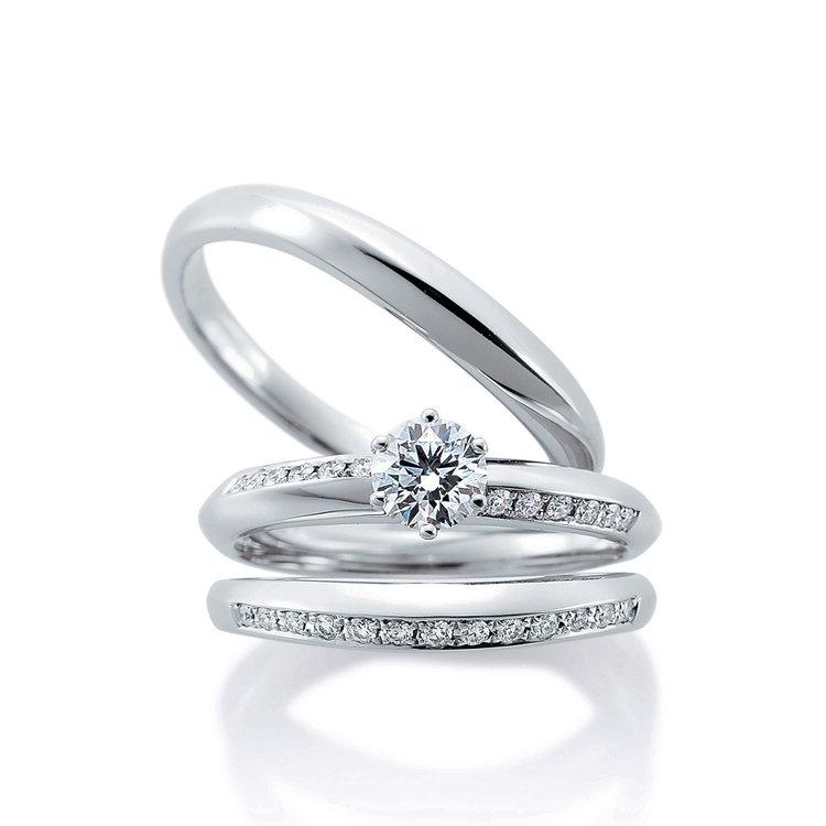 Clochette duo & Clochette 婚約指輪_結婚指輪_セットリング