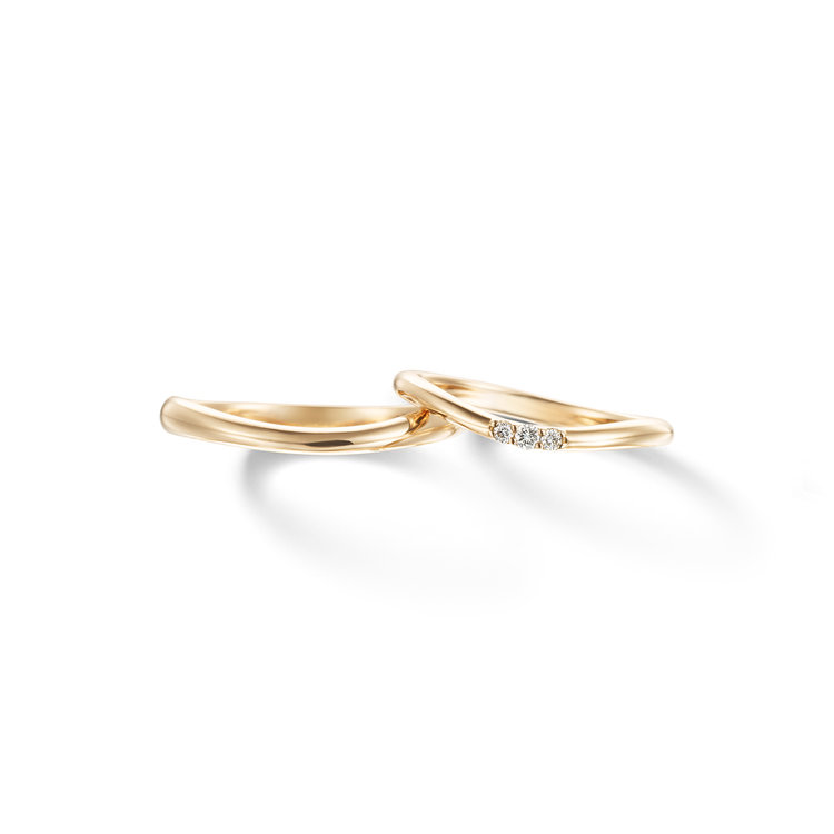 fika berry 笑って楽しく 結婚指輪