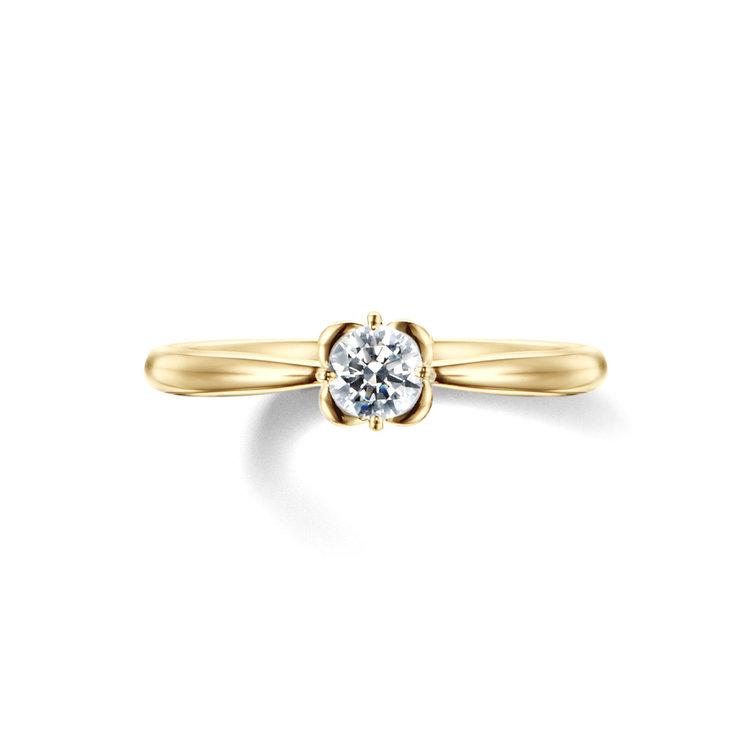 fika 白い花 約束のブーケ 婚約指輪