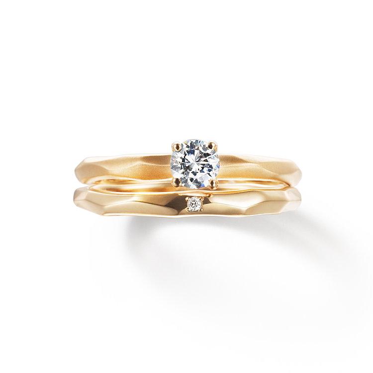 fika 光 愛しさ 婚約指輪 結婚指輪 セットリング