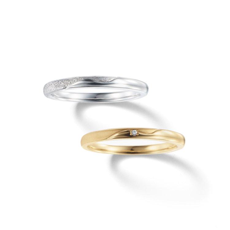 fika オーロラ 輝きのヴェール 結婚指輪