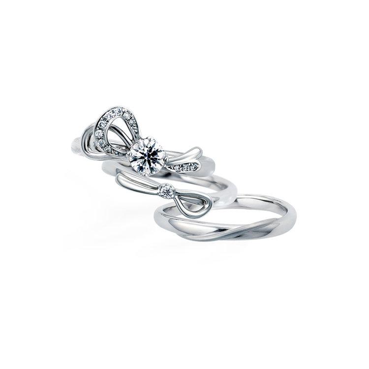 Le Ruban 婚約指輪_結婚指輪_セットリング