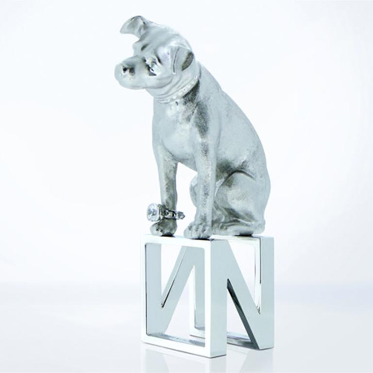 NIPPER - マスコット犬として世界で愛される、「ニッパー(NIPPER)」とのコラボレーションリング。Read More →