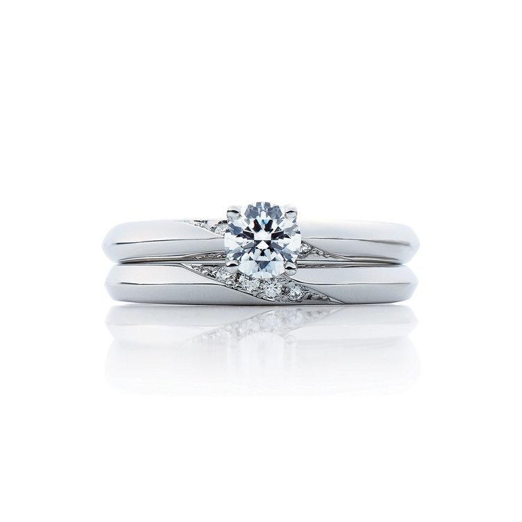 Lumiere duo & Lumiere 婚約指輪_結婚指輪_セットリング