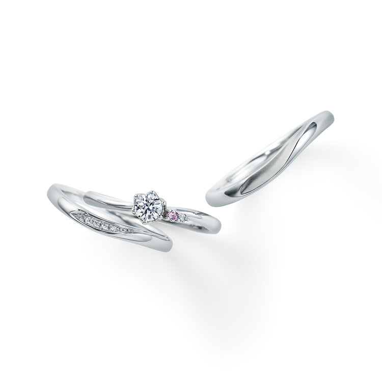 Camellia 婚約指輪_結婚指輪_セットリング