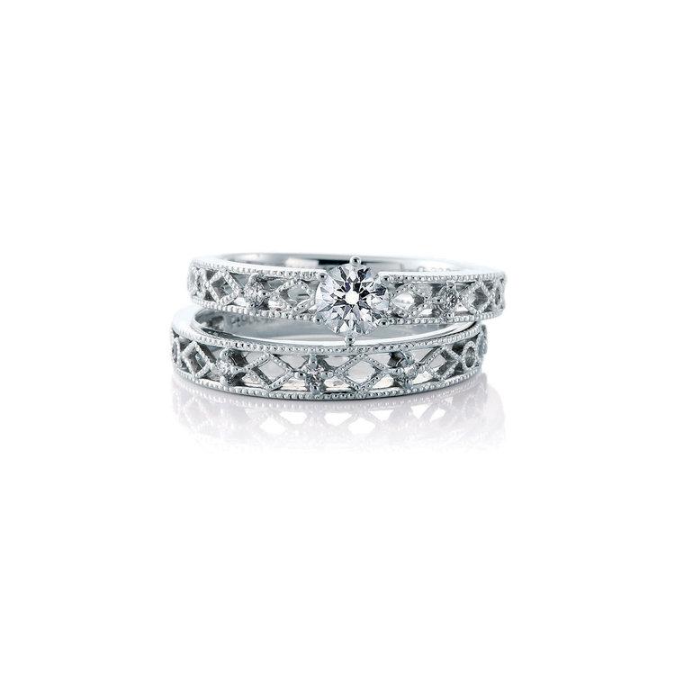 The Rouge 婚約指輪_結婚指輪_セットリング