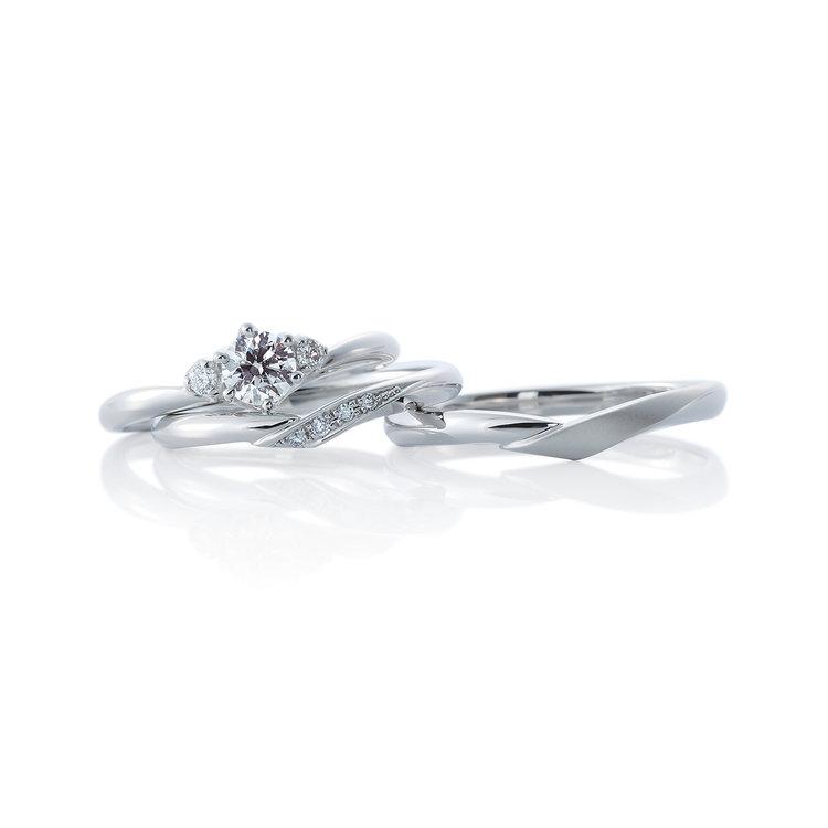 Cheri duo & Cheri 婚約指輪_結婚指輪_セットリング