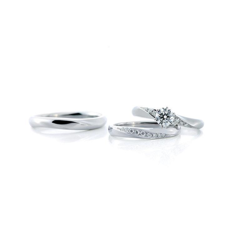 Oui duo & Oui 婚約指輪_結婚指輪_セットリング