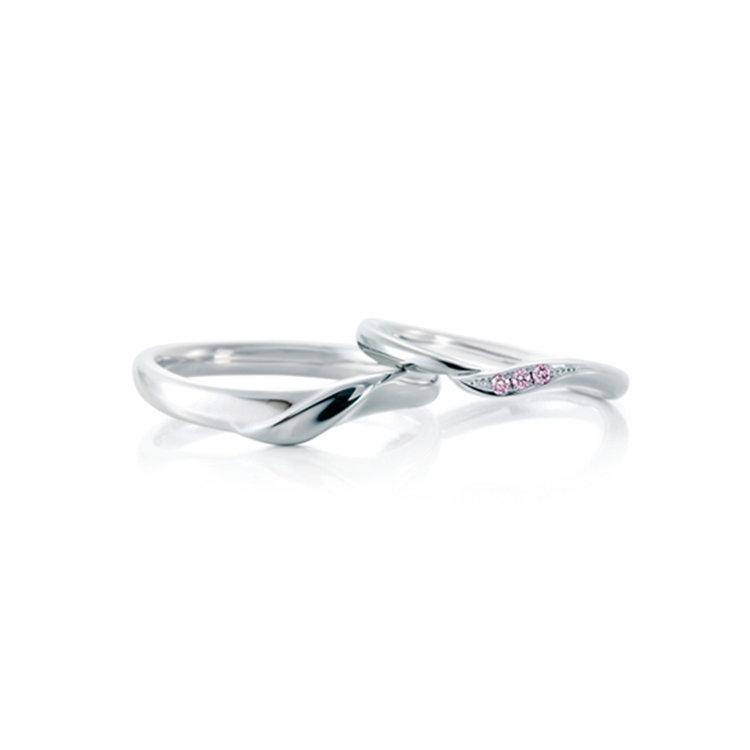 Rose hip 結婚指輪