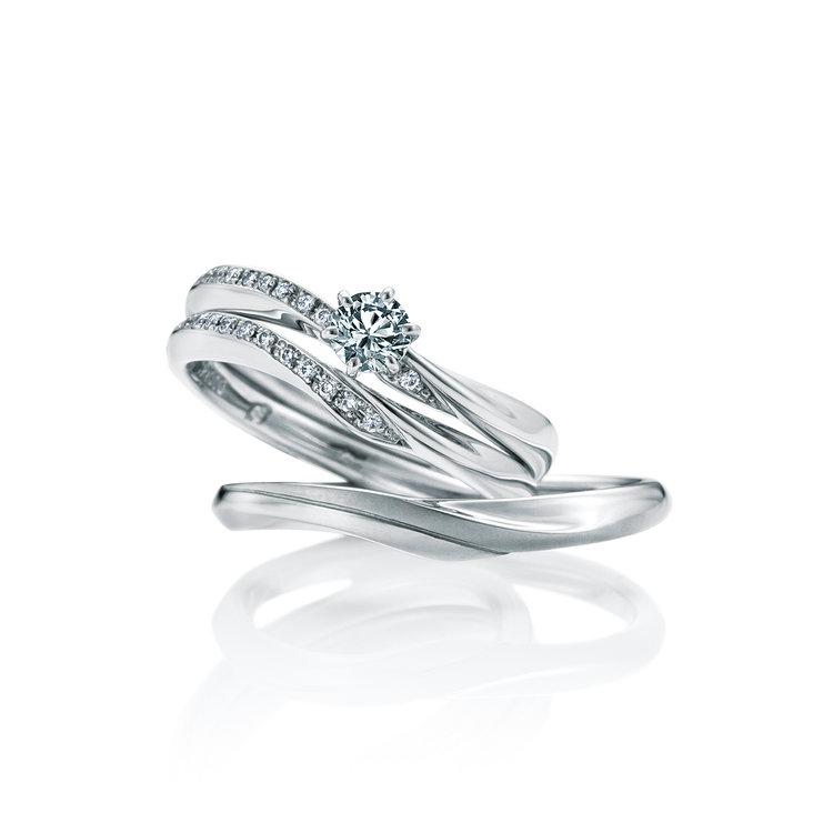 IZUMO 婚約指輪_結婚指輪_セットリング