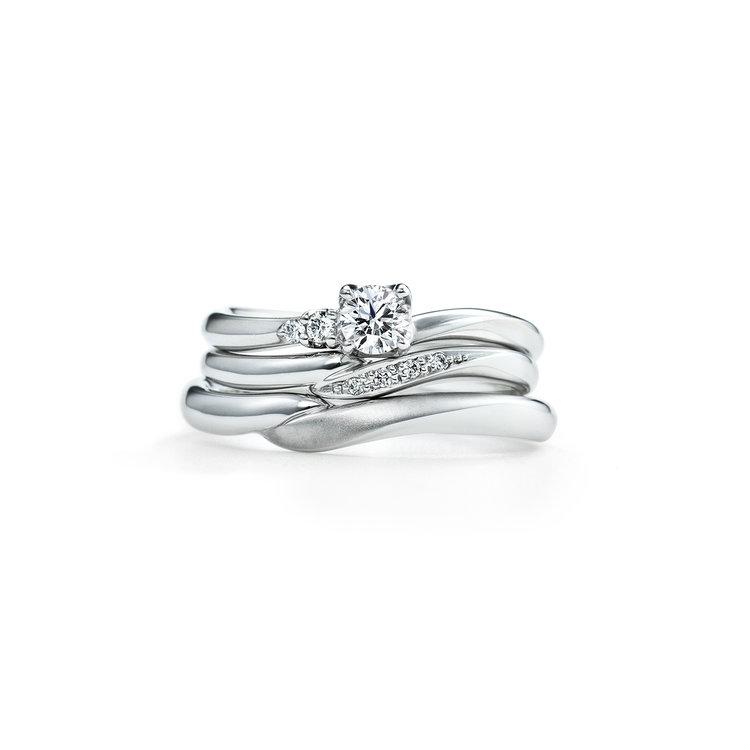 SUZURAN 婚約指輪_結婚指輪_セットリング
