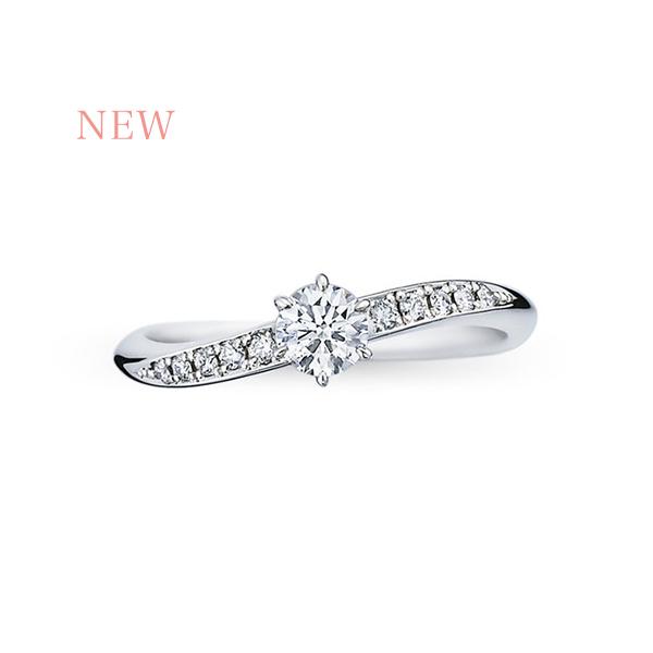 フォーエバーマーク ブライダルコレクション ミルキーウェイ婚約指輪