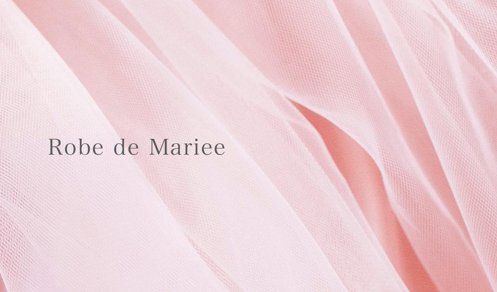Robe de Mariee永遠のメモリー - グラデーションのピンクダイヤモンドをあしらったリングはまるで大人の女性のフェミニンなウェディングドレス。タキシードを着た時のようなきりっと感のあるメンズのリングと合わせるとふたりはその日一緒になる・・・