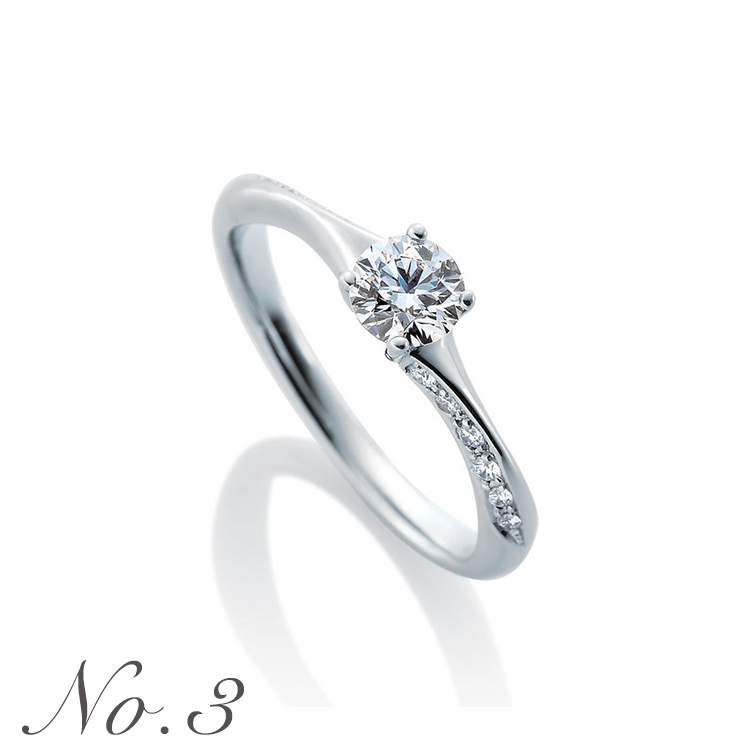 NOELBLANC_婚約指輪,ランキング3位