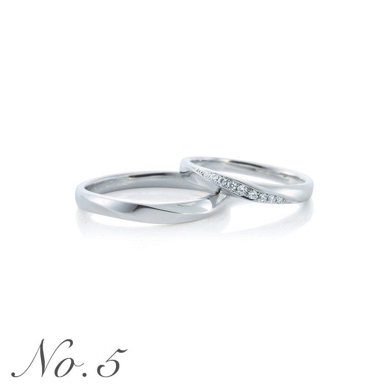 Oui 結婚指輪 男性人気ランキング5位
