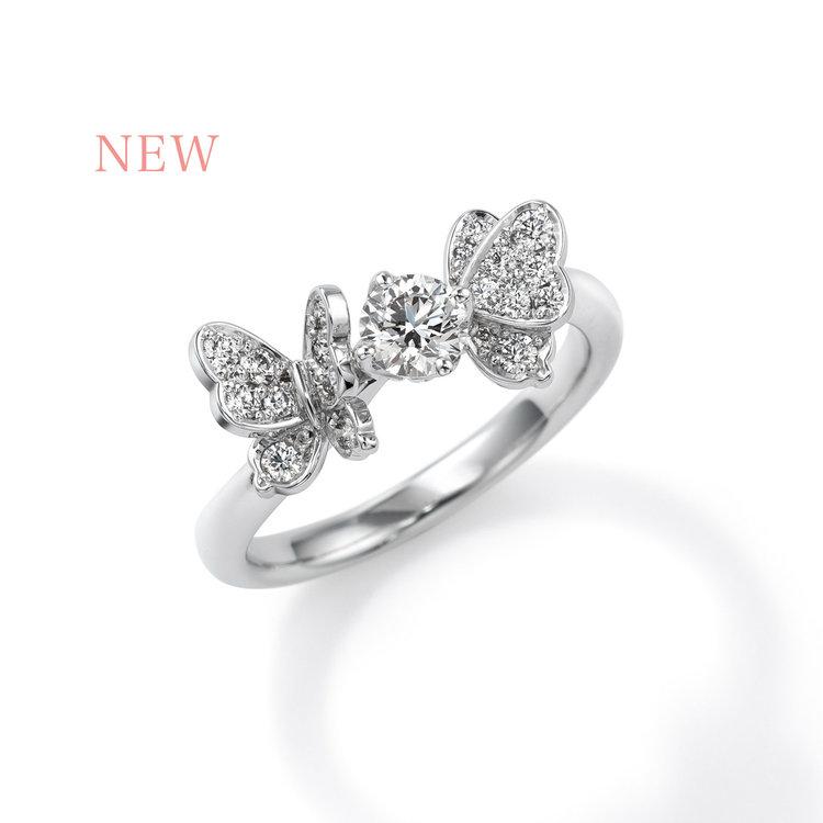 papillon CEE008 婚約指輪