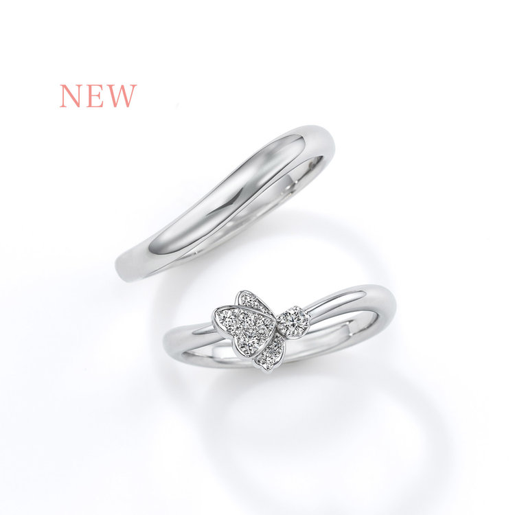 Papillon CME01/02 結婚指輪