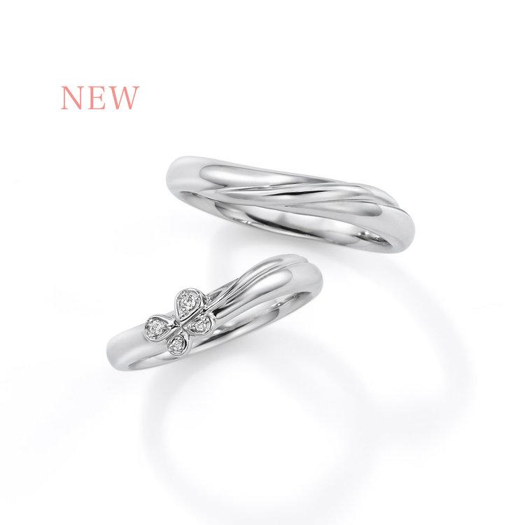 Papillon CME03/04 結婚指輪