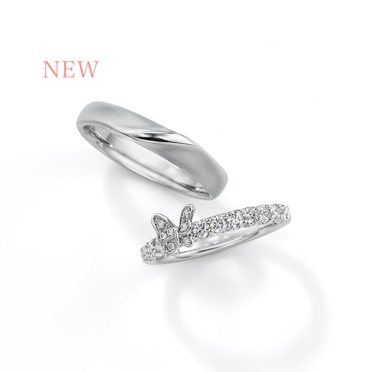 Papillon CME05/06 結婚指輪