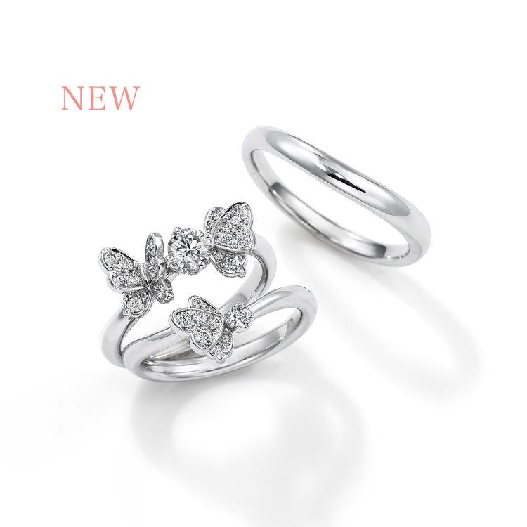 Papillon 婚約指輪_結婚指輪_セットリング