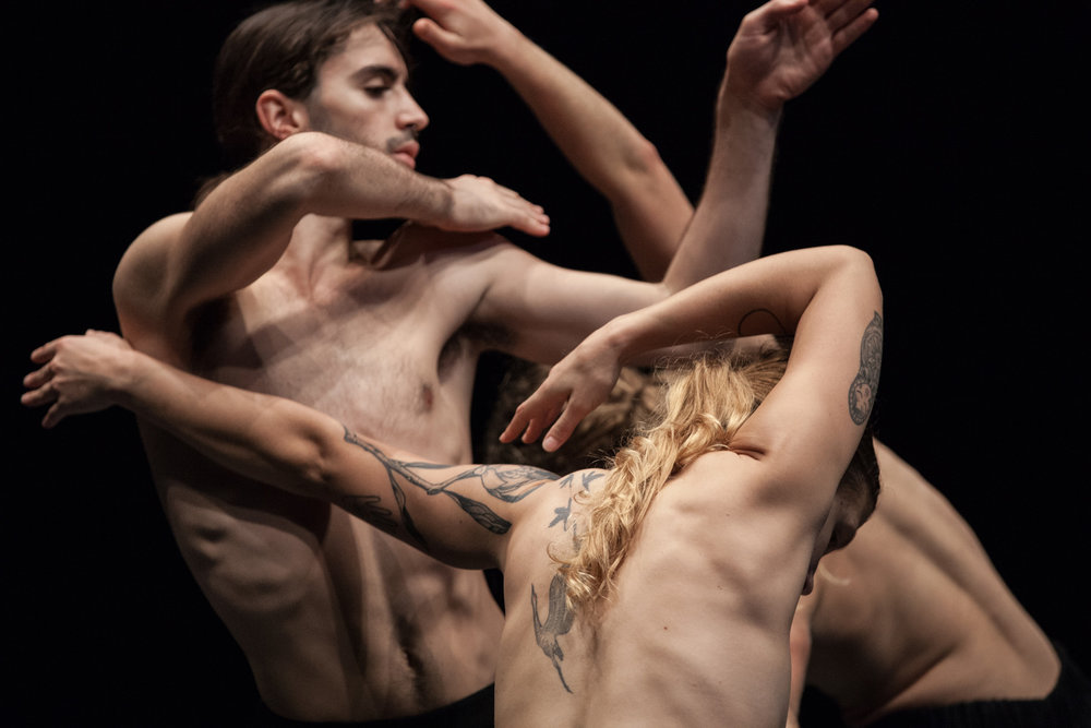 The Three Dancers - Dancenorth, choreographed by Lee Serle