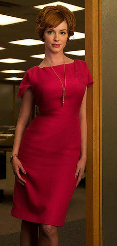 Put the wiggle in your wiggle dress with a high wait or all in one girdle like Joan from Mad Men