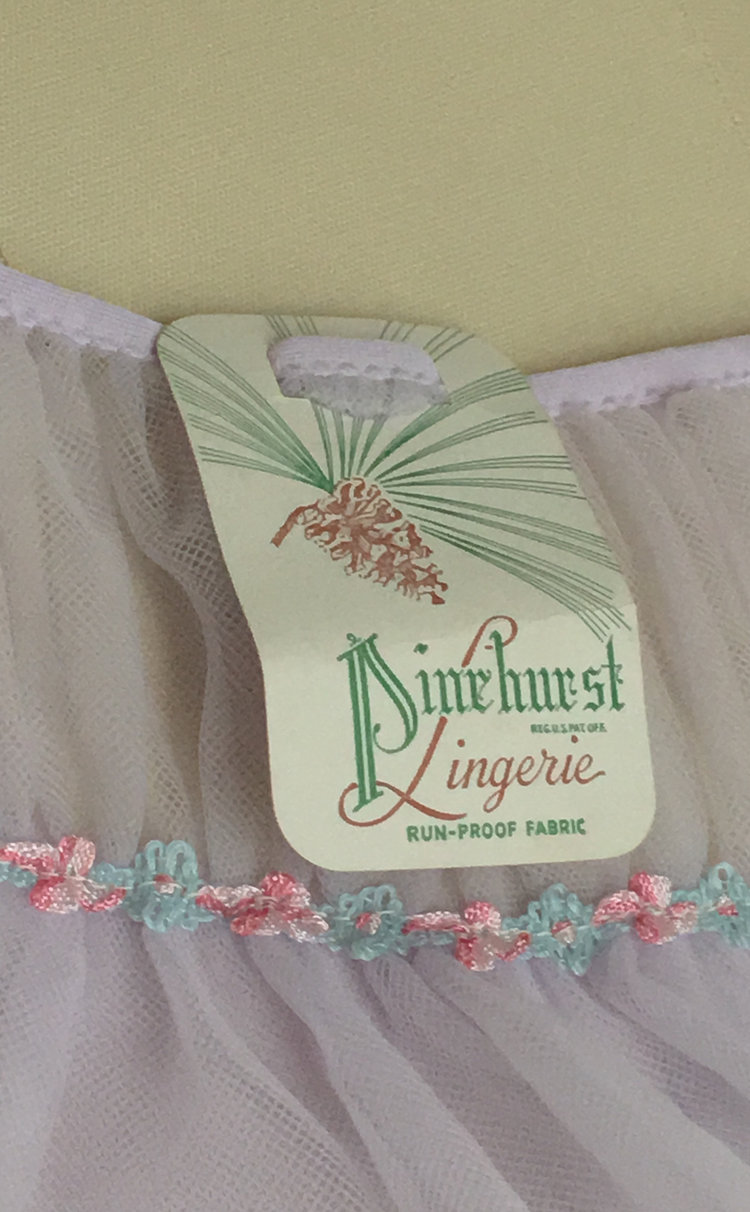 Tags intact equal a total score, this 1950's nightgown is currently listed!