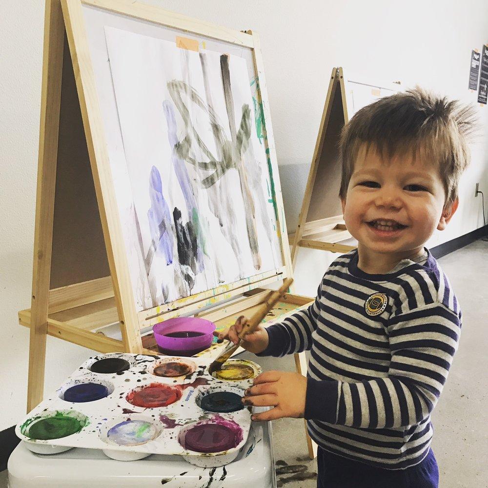 Little Artist.JPG