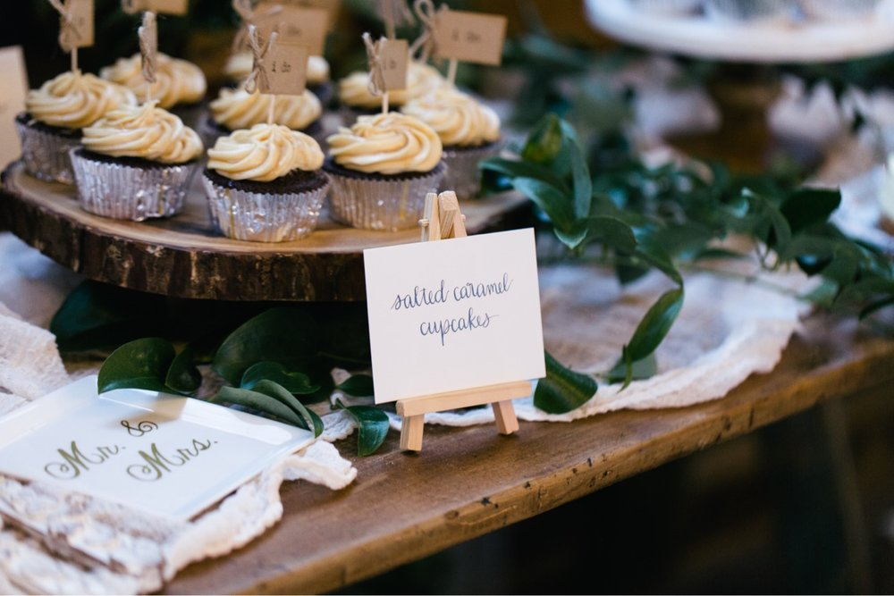 Dessert buffet tag